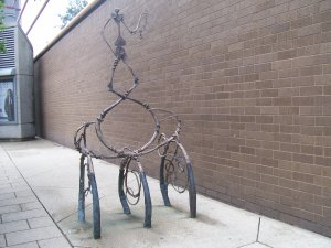 gnarly bike rack
