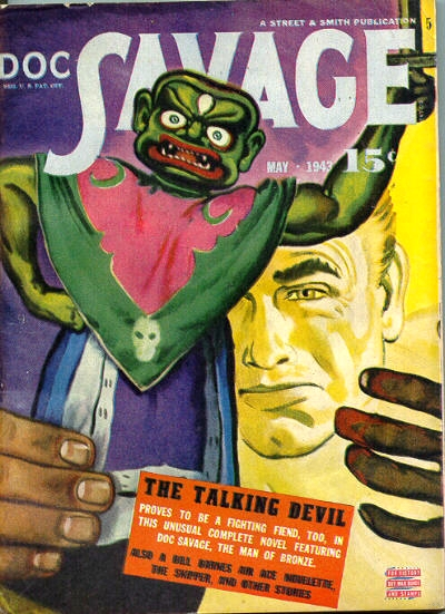 Doc Savage, Monk and Women: The Talking Devil and the Running Skeletons